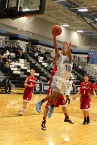 JV Boys Basketball Photos vs. Lowell