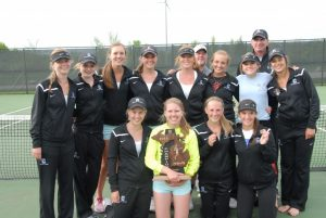 Girls Tennis takes Regionals!!