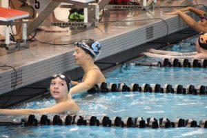 Girls Swim vs Northview 8.27.15