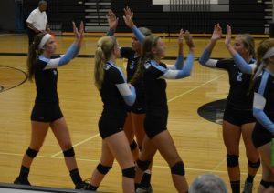 Varsity Volleyball vs Forest Hills Central 9.10.15