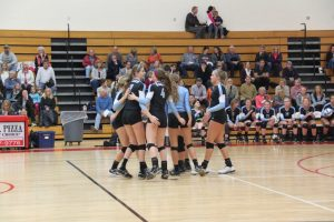 Varsity Volleyball vs Lowell 10.29.15