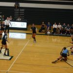 Varsity Volleyball vs Wayland 9.8.16