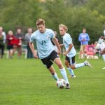 Boys Varsity Soccer beats East Grand Rapids 2 – 1