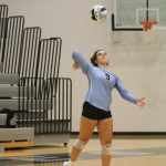Varsity Volleyball 2018 vs East Grand Rapids - photos by Kris Dekker