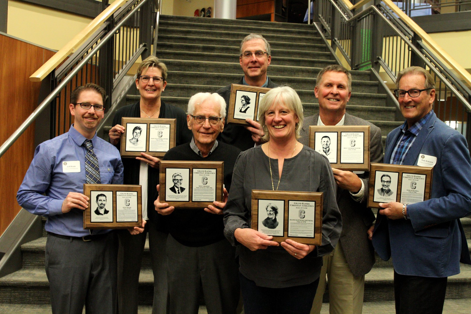 Eagles Athletic Hall of Fame Class of 2019