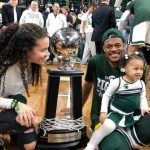 To understand Xavier Tillman's rise at MSU, start with his daughter