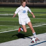 Girls Junior Varsity Soccer Continues Undefeated in Conference; Beats East Grand Rapids 4 – 0