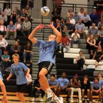 Boys Varsity Volleyball falls to Grand Haven 1-3 in Regional Finals.
