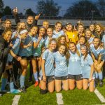 Girls Varsity Soccer claims OK Gold Conference title with 5-1 win over Wayland