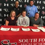 Bulldog, Sam Mickels, signs with Alabama A&M for Baseball