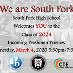 """We are South Fork"" Freshman Preview Night"