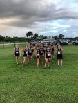 Girls Varsity Cross Country finishes 1st place at Vero Beach Invitational
