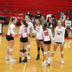 Girls Junior Varsity Volleyball beats Centennial 2 – 0