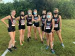 Girls Varsity Cross Country finishes 1st place at Home Meet 1