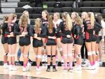 Girls Varsity Volleyball beats Martin County 3 – 0 in Round Robin