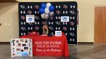 Congratulations! Tori Heine signed today to play volleyball for Daytona State College.