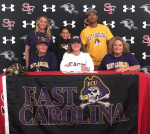 Congrats! Malea Rolle today she signed to play softball for East Carolina University.