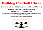 Bulldog Cheer Update!