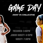 Girls Basketball Away at Chillicothe