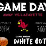 Girls/Boys Varsity Travel to Lafayette!
