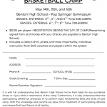 2019 Girls Youth Basketball Camp!