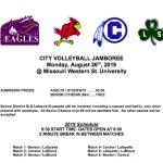 Volleyball Jamboree 8/26!