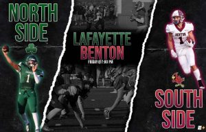 Week #3 Benton Cardinals vs. Lafayette Fighting Irish Graphic – created by Connor Timmons