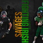 Week #4 Savannah Savages @ Lafayette Fighting Irish Graphic – created by Connor Timmons