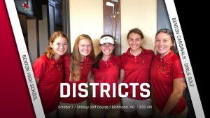 District Golf Tournament @ Richmond (10/7/19)