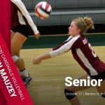 Benton Girls Volleyball – Senior Night – Kamrin Mauzey
