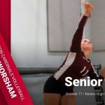 Benton Girls Volleyball – Senior Night – Gwen Worsham