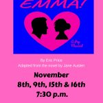 "Fall Musical - ""Emma"" Flyer"