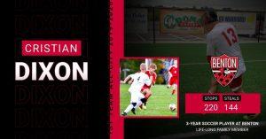 Benton Boys Soccer:  1st Team All-City Honors 2019-2020