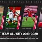 Benton Boys Soccer:  1st Team All-City 2019-2020