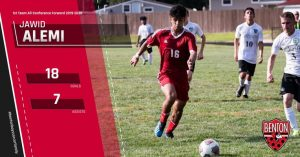 Benton Boys Soccer:  All Conference Honors 2019-2020