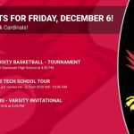 Events for Friday, December 6!