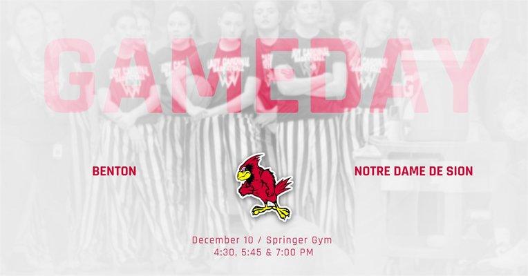 Benton Girls Basketball – Benton vs. Notre Dame De Sion