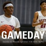 Benton Boys Basketball – Benton at Maryville