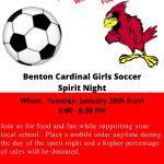 Benton Girls Soccer Chick-Fil-A Spirit Night