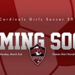 2019-2020 Benton Cardinals Girls Soccer - Coming Soon!
