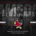 Benton Cardinals Girls Basketball – District Championship
