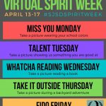SJSD – Virtual Spirit Week