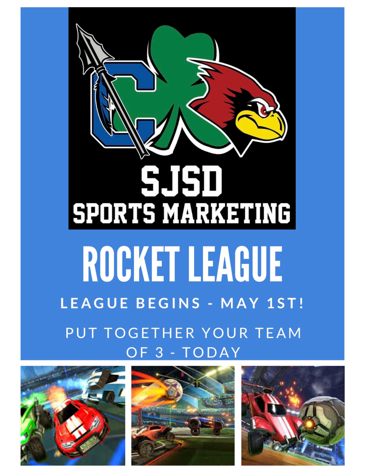 2019-2020 SJSD Sports Marketing Rocket League