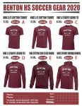 Benton Soccer Gear – NOW AVAILABLE!