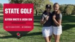 State Golf – Alyssa White & Jaida Cox