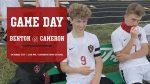 Benton Boys Soccer – Benton Cardinals @ Cameron Dragons