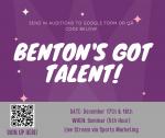 Benton's Got Talent!