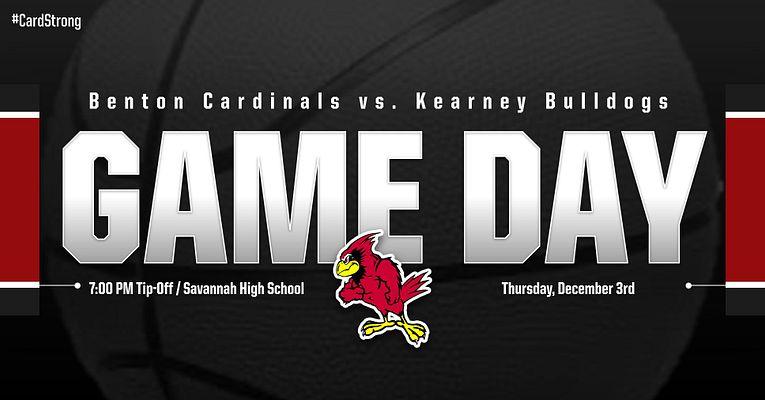 Benton Cardinals vs. Kearney Bulldogs – Boys Varsity Tournament