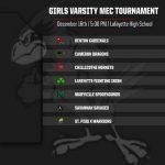 Benton Wrestling – Girls Varsity MEC Tournament