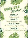 Spring Fever Reliever – Dress Up Days